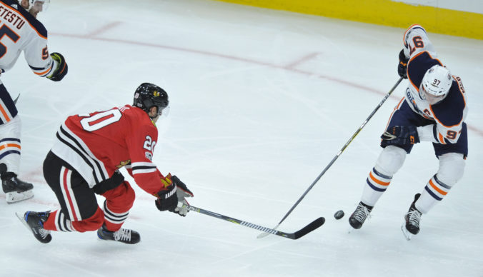Brandon Saad, Connor McDavid