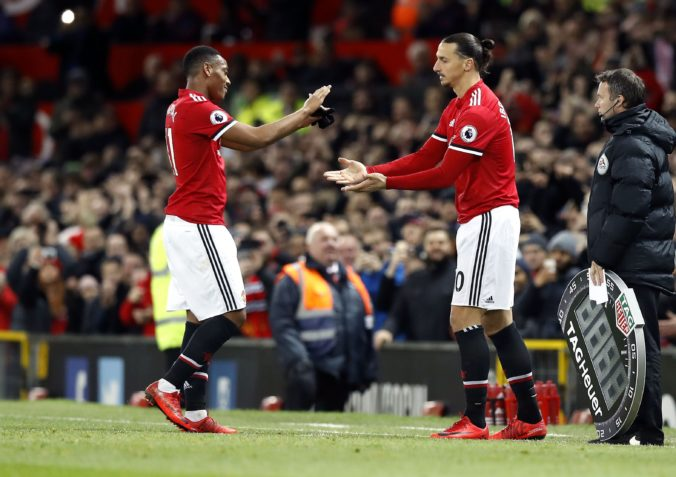 Anthony Martial, Zlatan Ibrahimovič