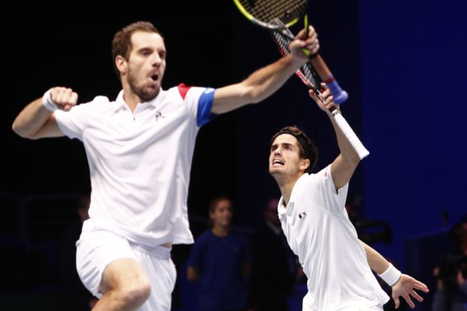 Richard Gasquet a Pierre Hugues Herbert