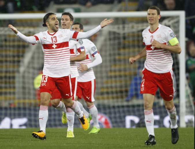 Soccer WCup 2018 Northern Ireland Switzerland