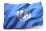 Flag of UNICEF