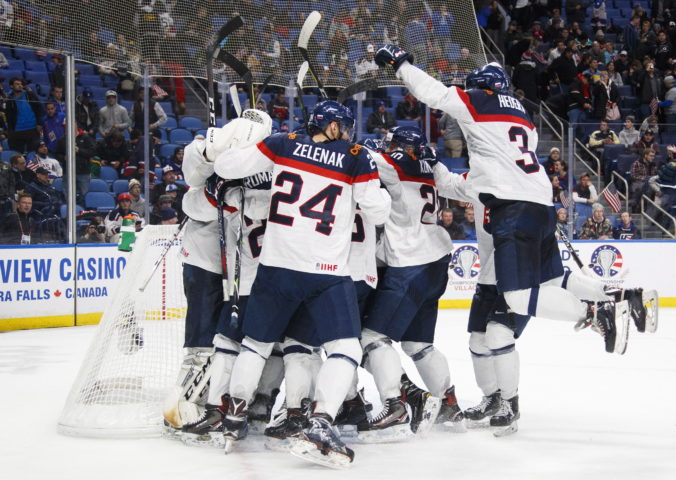 World Juniors Slovakia US Hockey