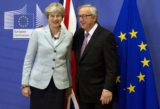 Jean Claude Juncker, Theresa Mayová