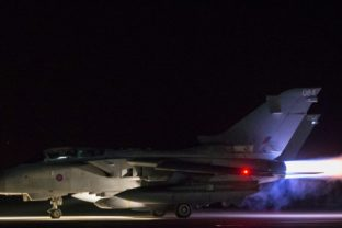 RAF JETS STRIKE CHEMICAL WEAPON FACILITY IN SYRIA