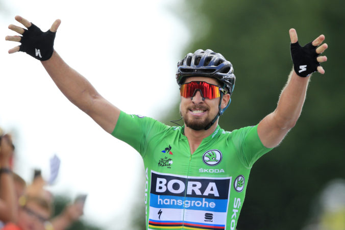 Peter Sagan, Tour de France 2018 (5. etapa)
