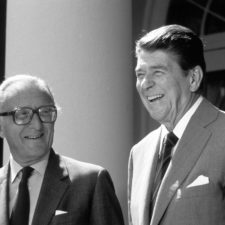 Ronald Reagan, Lord Carrington, Peter Carrington