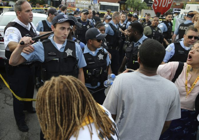Police Shooting Chicago