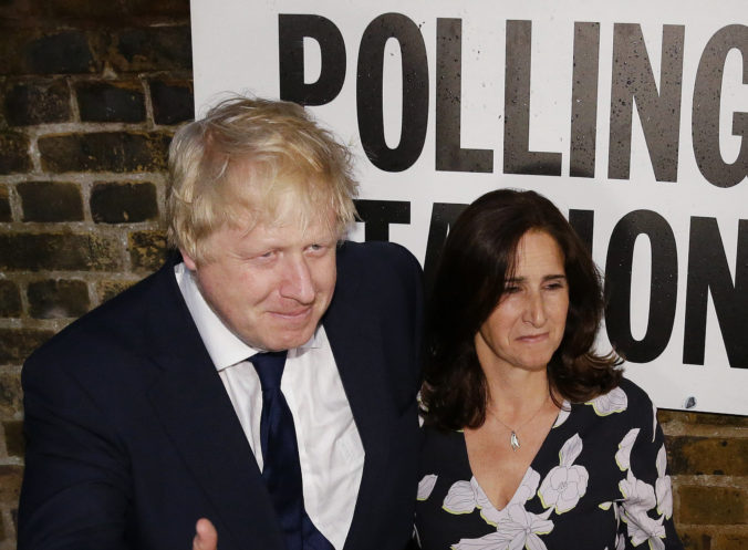 Boris Johnson, Marina Wheelerová