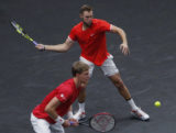 Laver Cup Tennis Jack Sock a Kevin Anderson