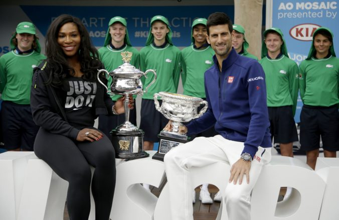 Serena Williamsová, Novak Djokovič