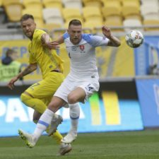 Ukraine Slovakia Nations League Soccer