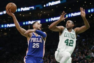 Ben Simmons (25), Al Horford (42)