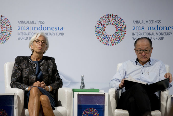 Christine Lagardeová, Jim Yong Kim