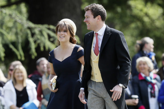 Eugenie a Jack Brooksbank