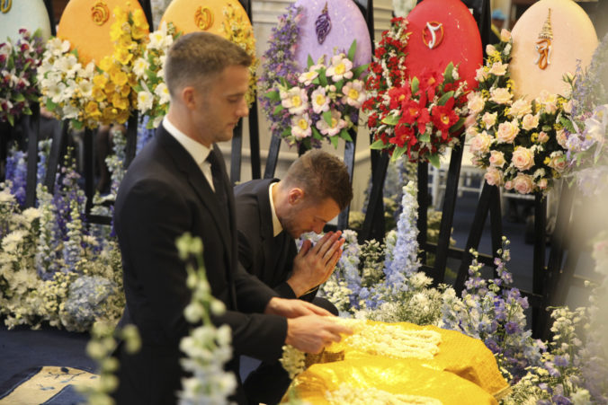 Thailand Leicester Chairman Funeral