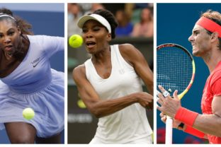 Serena Williams, Venus Williams, Rafael Nadal