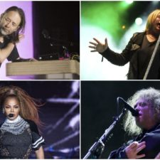 Thom Yorke (Radiohead), Joe Elliott (Def Leopard), Janet Jackson, Robert Smith (The Cure)