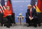 Donald Trump, Angela Merkelová, Summit G20