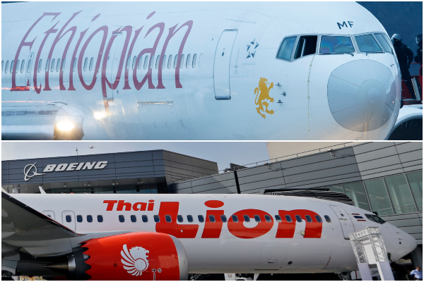 Ethiopian Airlines, Lion Air, Boeing