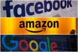 facebook, amazon, google