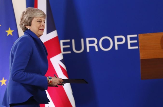 Theresa Mayová, brexit
