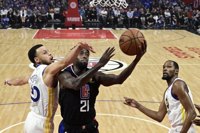 Patrick Beverley, Stephen Curry, play-off NBA
