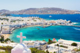 View on Mykonos island, Cyclades, Greece