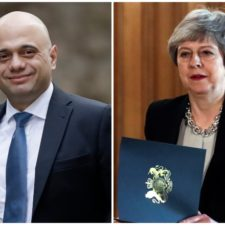 Sajid Javid, Theresa Mayová