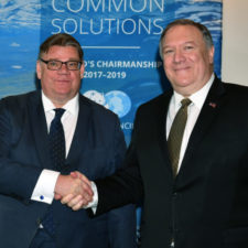 Mike Pompeo, Timo Soini