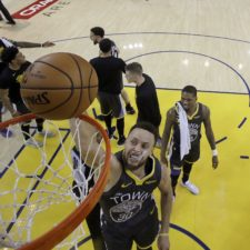 Stephen Curry, Golden State Warriors, play off NBA