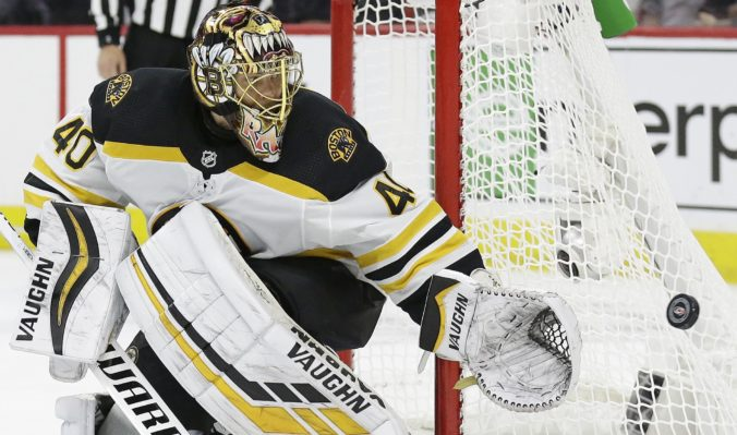 Tuukka Rask, play-off NHL, Boston Bruins
