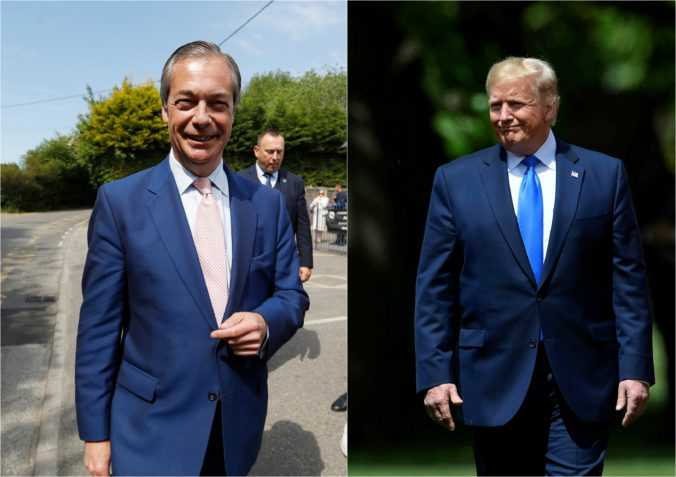 Trump, Farage