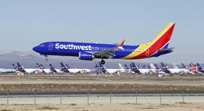 Southwest Airlines, Boeing 737 MAX, Boeing