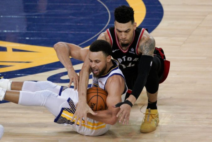 Danny Green, Stephen Curry, finále NBA