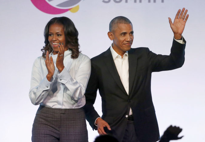 Barack Obama, Michelle Obamová.