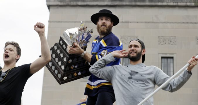 Ryan O'Reilly, Conn Smythe Trophy, St. Louis Blues, NHL