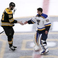 Zdeno Chára, Jordan Binnington, Boston Bruins, St. Louis Blues, finále NHL