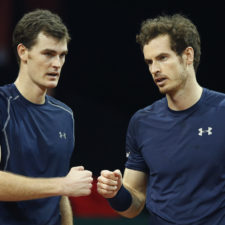 Murray Doubles Tennis
