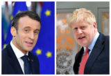 Emmanuel Macron, Boris Johnson
