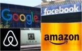 Google, Amazon, Facebook, Uber, Airbnb