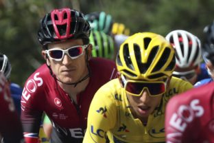 Egan Bernal, Geraint Thomas, Tour de France - 20. etapa