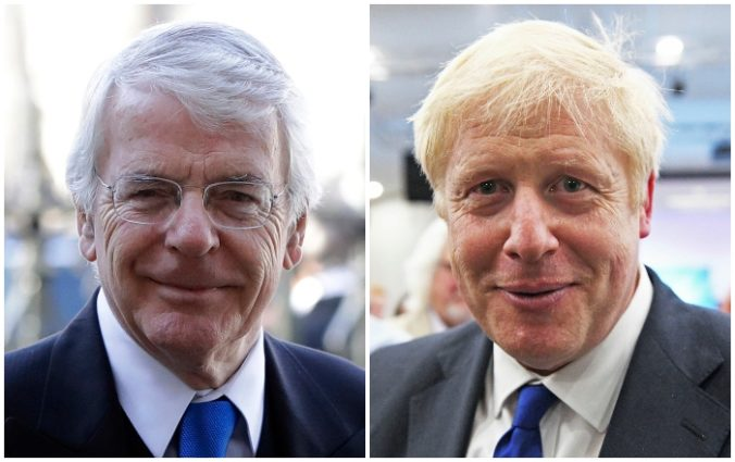 John Major, Boris Johnson
