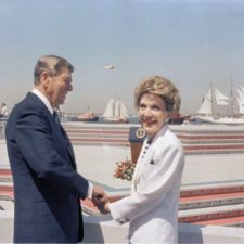 Ronald Reagan, Nancy Reaganová