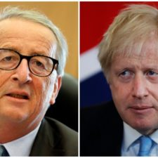 Boris Johnson, Jean Claude Juncker