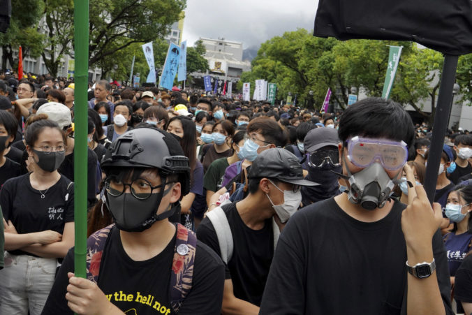 Hong Kong Protesty, študenti
