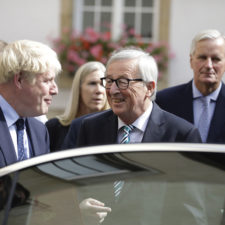 Jean Claude Juncker, Boris Johnson