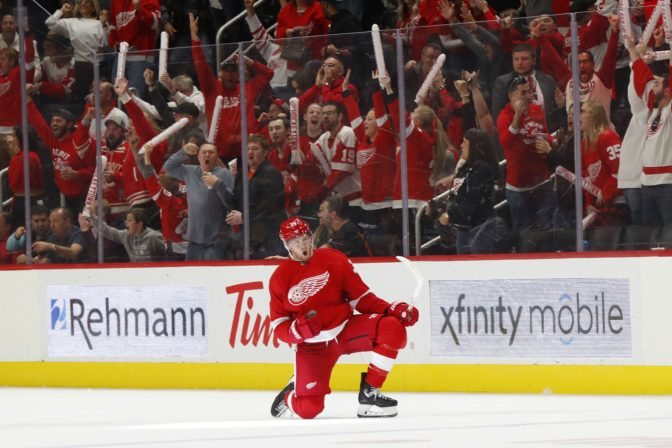 Anthony Mantha, NHL, Detroit Red Wings