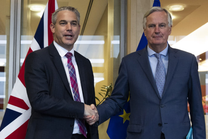 Stephen Barclay, Michel Barnier
