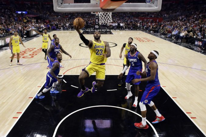 LeBron James, NBA, Los Angeles Lakers, Los Angeles Clippers