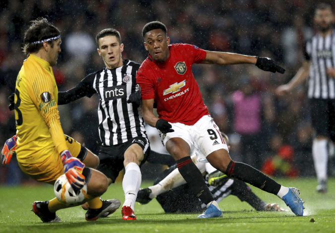 Manchester United - Partizan Belehrad
